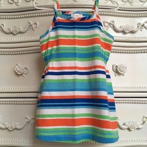 HANNA ANDERSSON Tank Dress EURO 80 striped